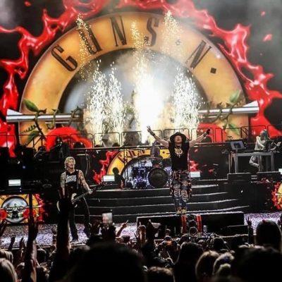 Guns N Roses -Concert – Transport